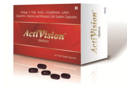 Activision capsules, Packing Size: 10, Packaging Type: Strip