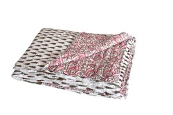 Block Printed Cotton Quilt