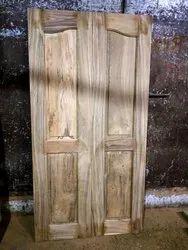Brown Main Teak Double Doors