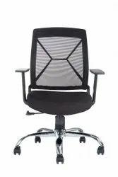 Virgo low back mesh chair
