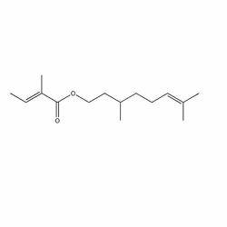 Citronellyl Tiglate,  Tiglic Acid Citronellol Ester