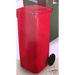 Red Waste Bins