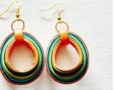 3d Multi Drop Handmade  Earring3