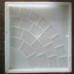 Silicone Plastic Single Round Tile Mould