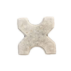Matte Cement Interlocking Tiles, For Pavement, Landscaping, Size: Medium