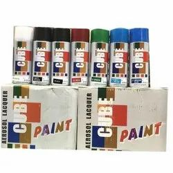 Paint Spray Cans ( Chrome, Silver , Black & Golden)