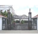 Modern Cast Iron Gate