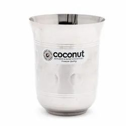 Silver Coconut Stainless Steel A16 Nexa Polished Glass for Home