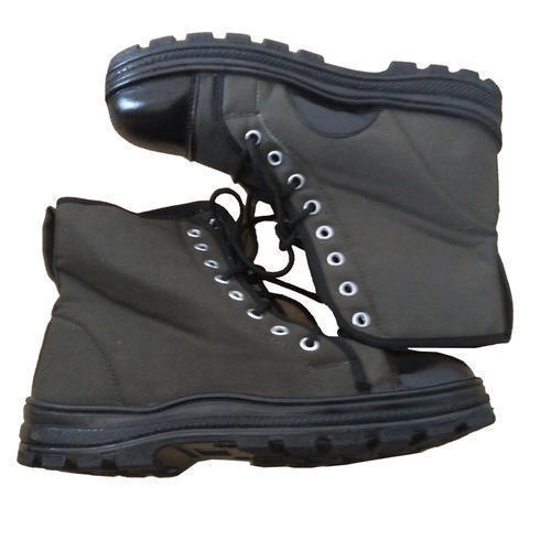 Men''s Canvas Fabric Army Shoes, Size