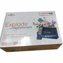 Black Amkette Hi-defination Multimedia Player