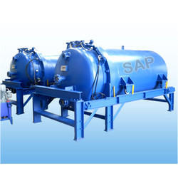 SS Horizontal Pressure Leaf Filter