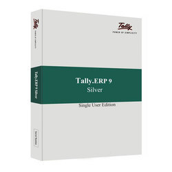Tally Software ERP 9 Silver