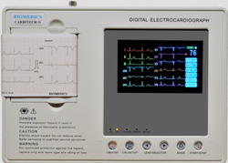 Three Channel ECG Machine, for Clinical