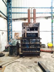 Coconut Fiber Baling Machine