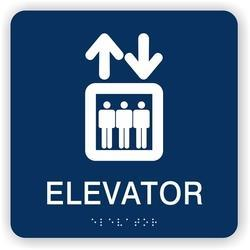 Braille Signage For Elavators