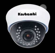 Dome Camera IR With WDR And OSD