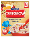 Nestle Ceregrow Multigrain Cereal With Milk & Fruits - 300 gm