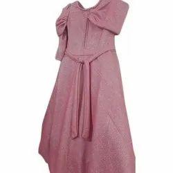 Plain Adaa Party Wear Kids Gown