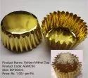 Plain Golden Mithai Cup, Use: Packaging