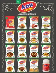 Natural Spices Anu Masala, Packaging Type: Packet, Dry Place