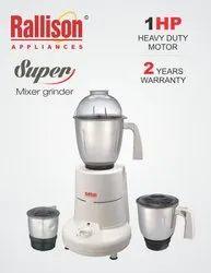 Rallison Food Mixer Super 1 HP Mixer Grinder, 751 W - 1000 W