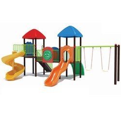 Twin Swing Kids Play Station