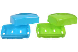 Plastic Soap Cases Set Of 2
