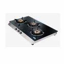 Black, Silver Kkolar Kct 73 Bk Cooktop, Size: 600x520x65 Mm