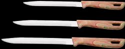 Point Series Large Marble Handle Knives