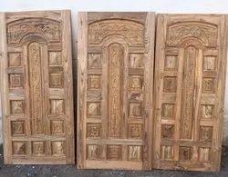 Sagwan Wooden Single Door Design