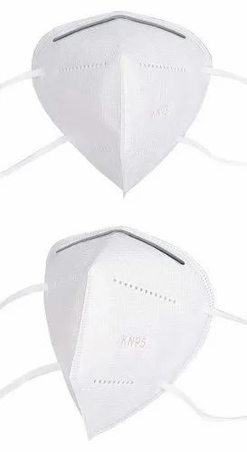 Reusable N95 White without Respirator Face Mask, Number of Layers: 5 Layer