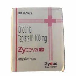 Erlotinib 100 Mg IP Tablet