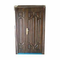 Brown Steel Doors