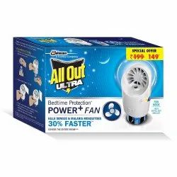 All-Out Ultra Power FAN (Machine plus Refill), Packaging Type: Container