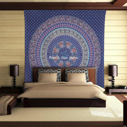 Indian Hippie Wall Tapestry Bohemian