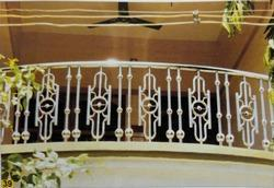 Silver Indoor Stainless Steel Railing