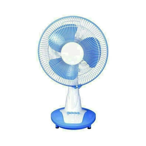 Ulexo Blue And White 12 Inch Table Fan