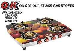 Digital Glass 4 Burner Gas Stove