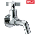 Stainless Steel C220702 Somany Xylo Bib Cock With Wall Flange For Bathroom Fitting