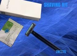 Blue Shaving Kits for Hotel Guest Amenities