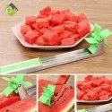 Windmill Watermelon Slicer Cutter Stainless Stee Knife Tongs Corer Fruit Melon Stainless Steel Kitch