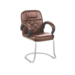 Medium Back Leatherette Visitor Chair