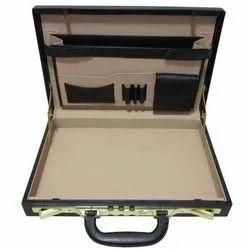 Plain Leather, Plastic Office Designer Briefcase
