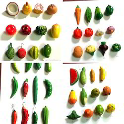 Miniature Vegetables And Fruits