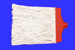 Cotton Plastic Clip Mop, Size: Standard