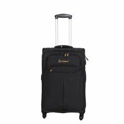 Black Trolley Suitcase, Number Of Wheel: 4