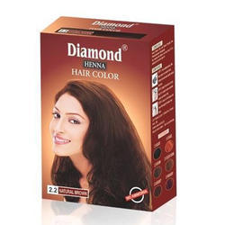 Diamond Natural Brown Henna Hair Color