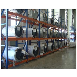Industrial Fabric Roll Racks