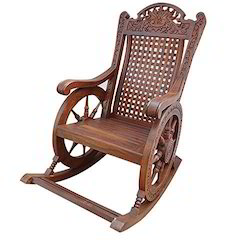 wooden rocking chair. wooden rocking chair