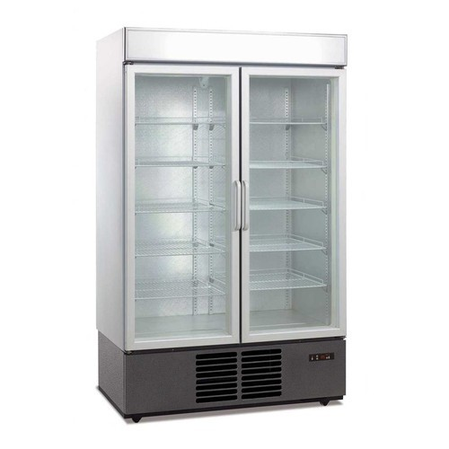 Stainless Steel Glass Door Refrigerator Application Commercial